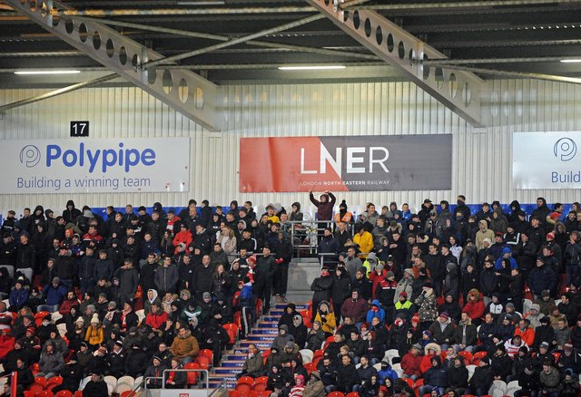 Doncaster Rovers fans