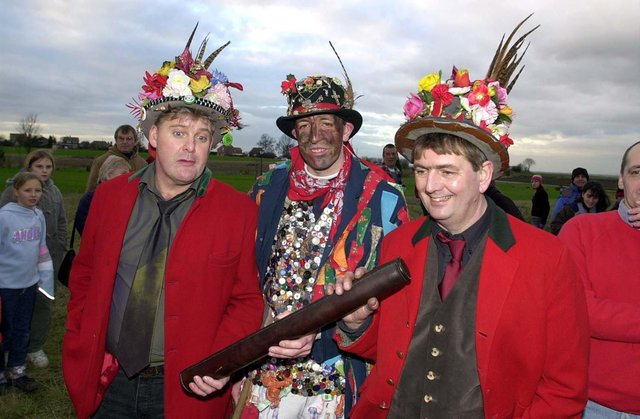 Who can you spot taking part in the time honoured tradition of the Haxey Hood over the years?