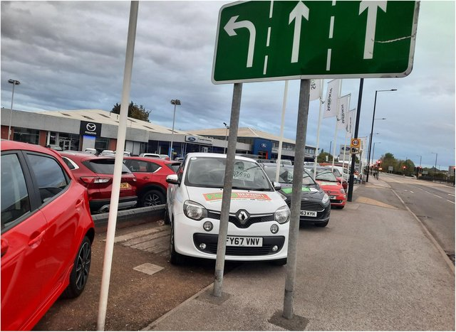 The Renault Twingo was impressively manoeuvered at Stoneacre.