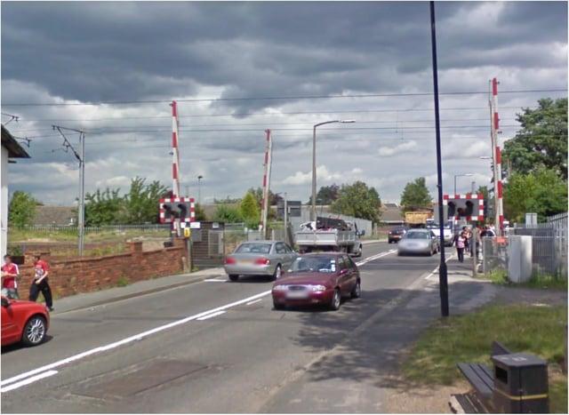 Rossington level crossing.
