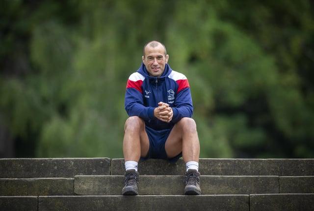 Doncaster Knights head coach Steve Boden. Photo: Tony Johnson