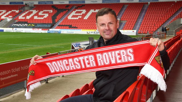 Richie Wellens is back with Doncaster Rovers, this time as manager. Picture: Andrew Roe/AHPIX