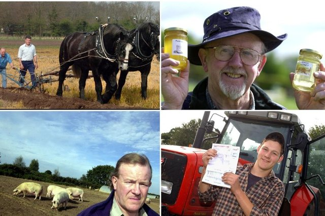 Click through this article to see photos of Doncaster farmers from decades past.
