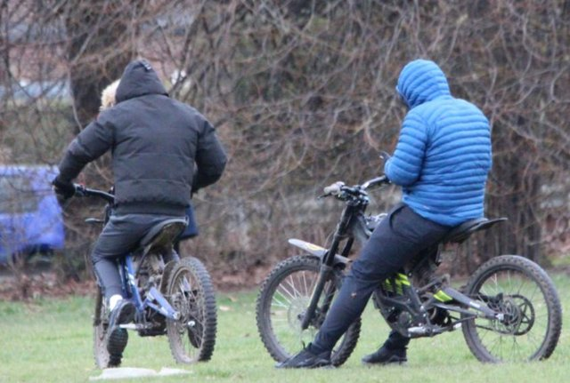 Sandall Beat Wood appeal. Police want to trace these riders