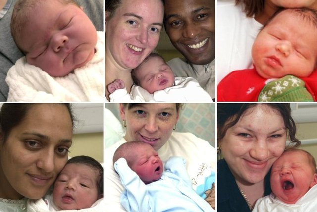 Click through the article to see adorable new born babies born in Doncaster.