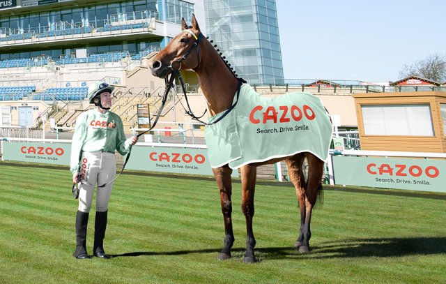 Cazoo is the new race sponsor in Doncaster
