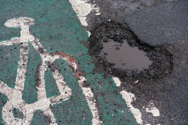 Zurich Municipal says potholes pose a far greater risk to cyclists than to drivers