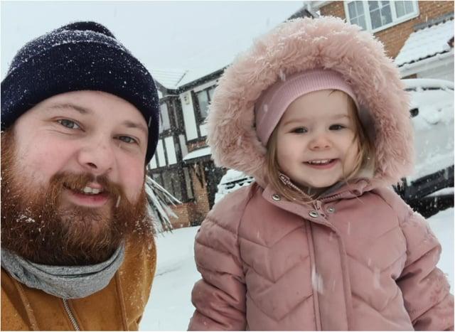 Dan Windle and his daughter Cora-Joan.