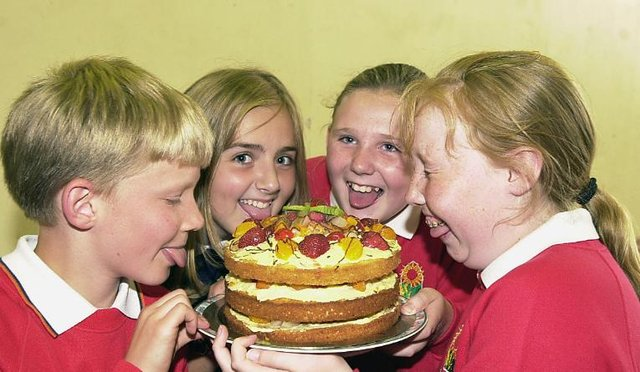 Were you one of the pupils who took part in a baking competition in the early 2000s?