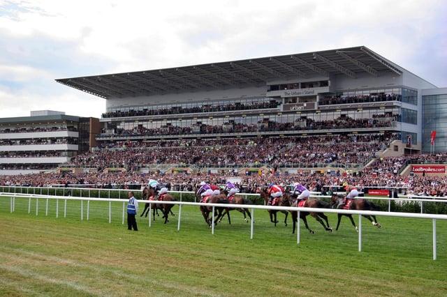 Doncaster Racecourse.