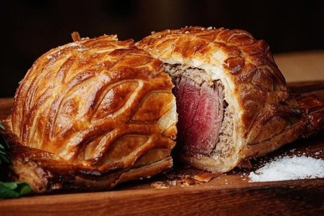 The tender beef wellington. Image: Oblix at The Shard