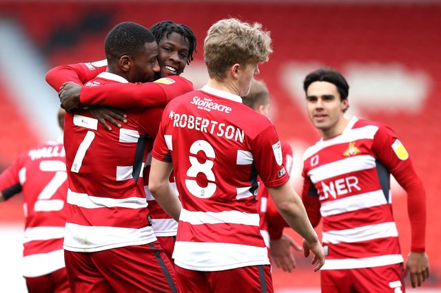 Doncaster Rovers, Swindon & Burton's final standing in the bizarre alternative League One table