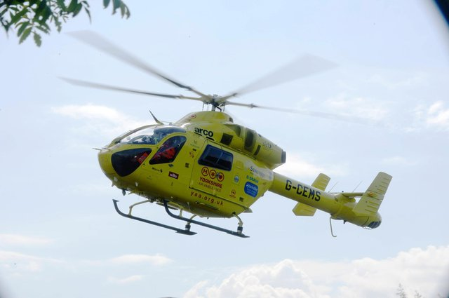 Yorkshire Air Ambulance - file picture