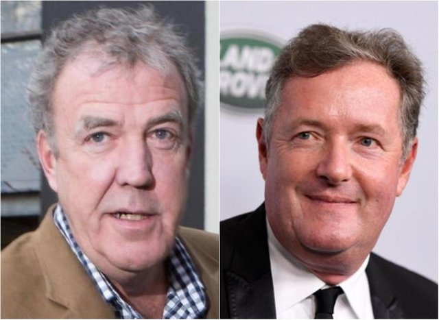 Jeremy Clarkson and Piers Morgan.
