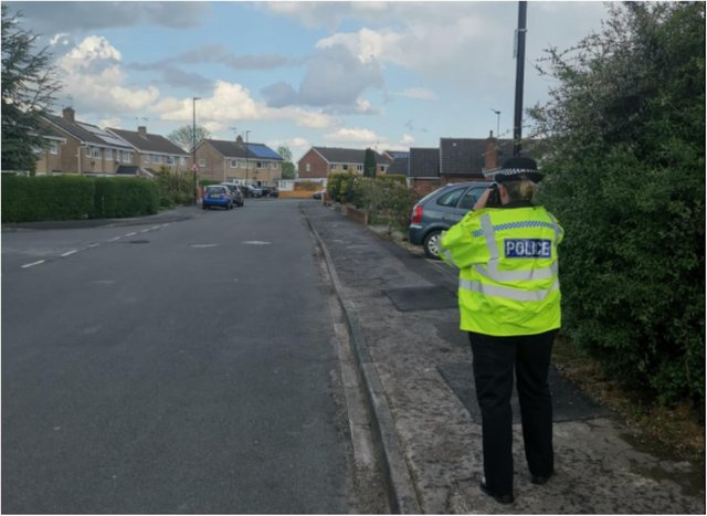 Police launched a speeding clampdown in Thorne.