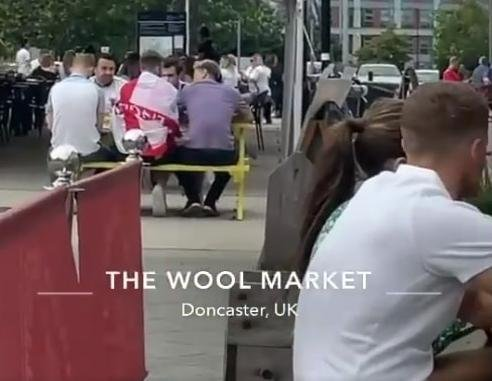 The Wool Market in Doncaster. Picture and video by James Marshall