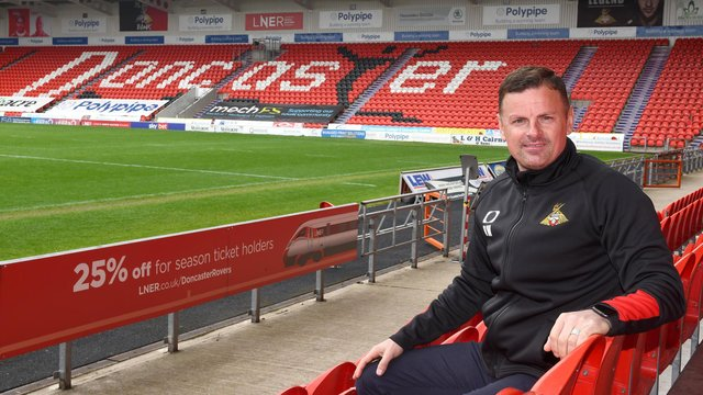 Richie Wellens is the new manager of Doncaster Rovers