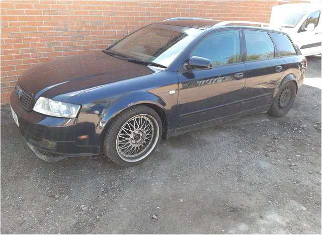 The Audi recovered in Dunscroft.