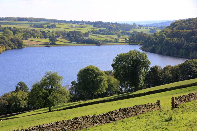 Damflask Reservoir in Sheffield. Yorkshire Water has reminded people not to travel to its reservoirs due to the coronavirus pandemic