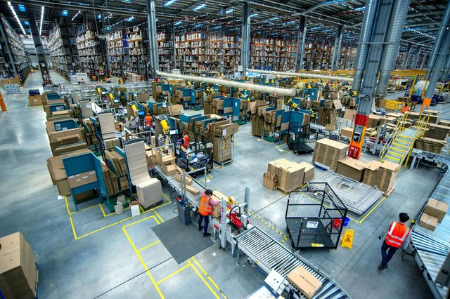 Amazon launches first live virtual visitor tours of its Doncaster fulfilment centre