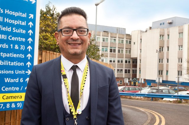 The new Equality, Diversity and Inclusion Lead, Qurban Hussain
