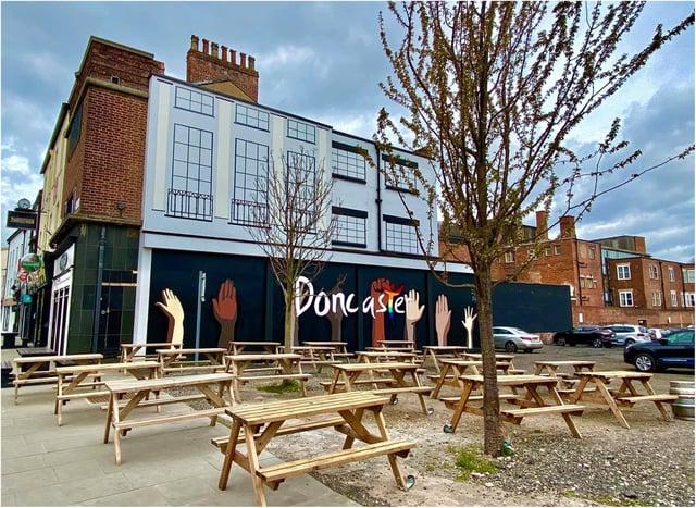 The Hallcross has turned a car park into a beer garden. (Photo: Hallcross).