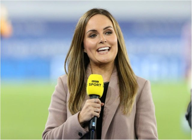 BBC sports host Kelly Somers. (Photo: Getty Images)