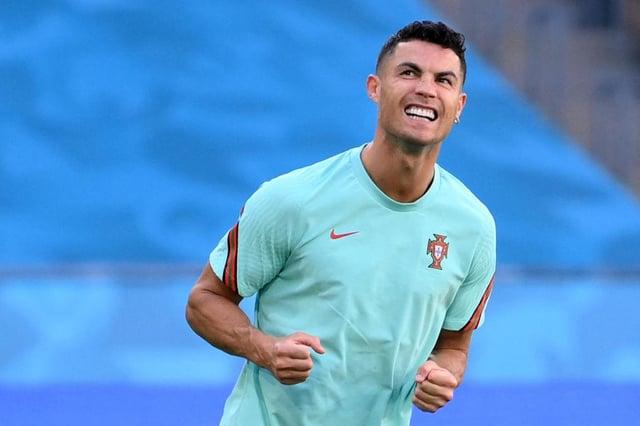 Portugal forward Cristiano Ronaldo. Photo by LLUIS GENE/AFP via Getty Images