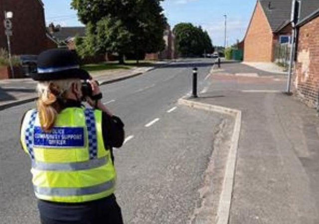 South Yorkshire Police carried out a speeding operation in Hexthorpe