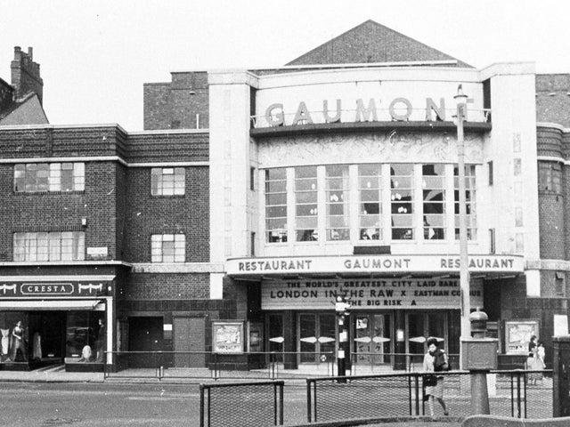 The Gaumont back in the 1960's.