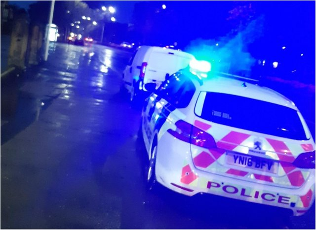 Police stopped the drink driver in Intake.