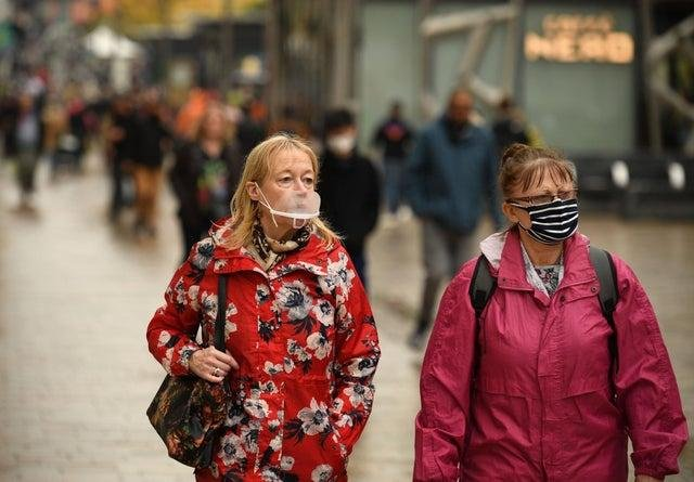 Wearing masks outdoors could be made compulsory.
