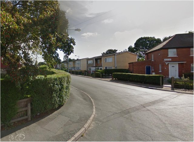 Shots were fired at a house in Exeter Road, Wheatley.