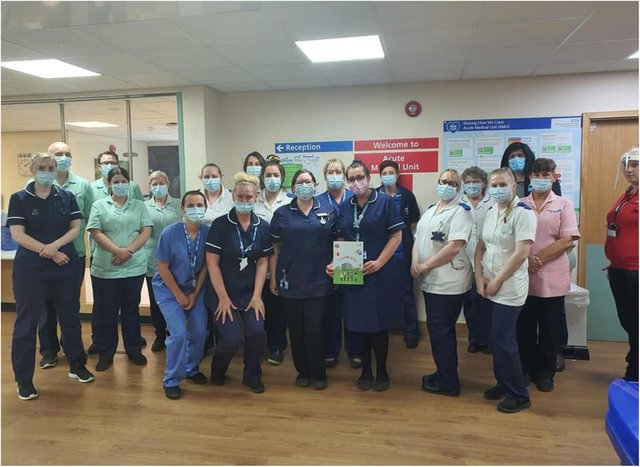 Doncaster has just one Covid hospital patient.