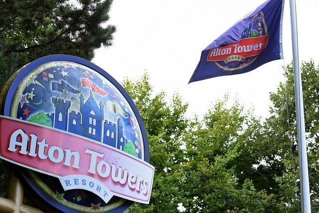Alton Towers.