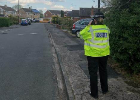 Police carrying out speed checks