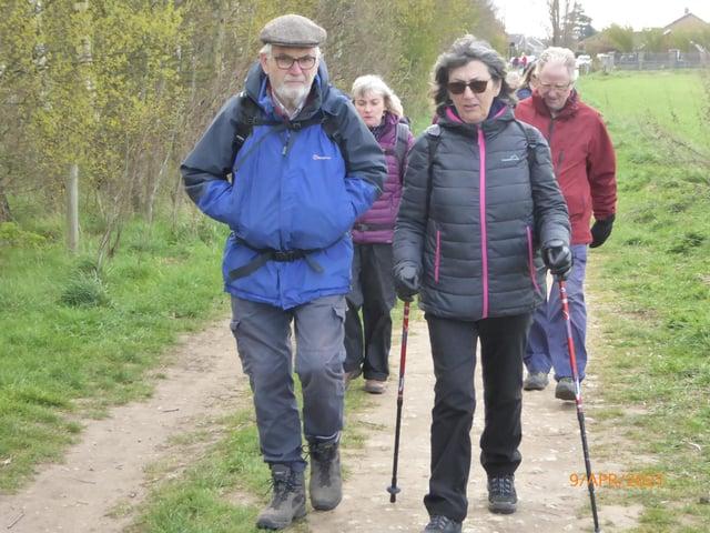 Enjoying the Dunscroft circular walk