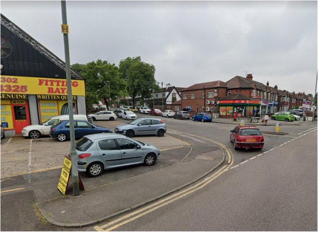 The collision is said to have taken place on Thorne Road.