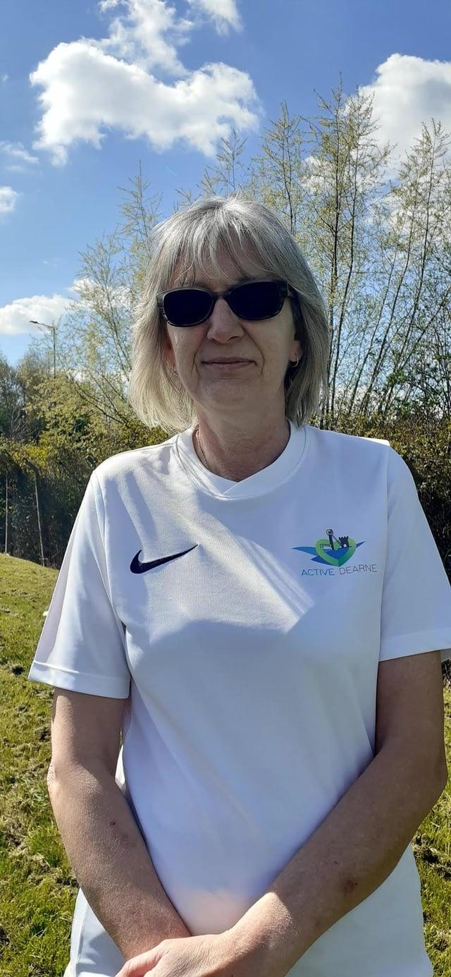 Angela Cooper, 58, from Mexborough.