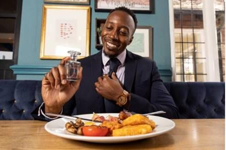 The new fragrance has been launched to promote the new breakfast menu