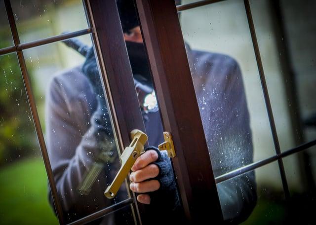 Stock - House Robber / Burglar / burglary / break in