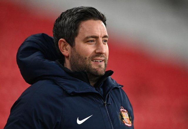 Sunderland head coach Lee Johnson. Photo by Stu Forster/Getty Images
