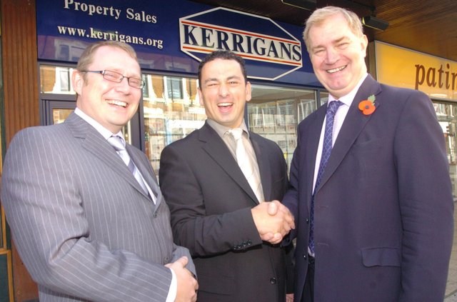 Who can you spot in these retro Doncaster estate agent pictures?