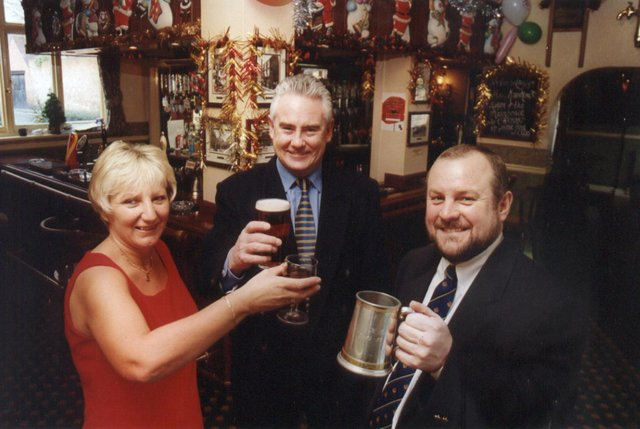 Who can you spot in these pub pictures?