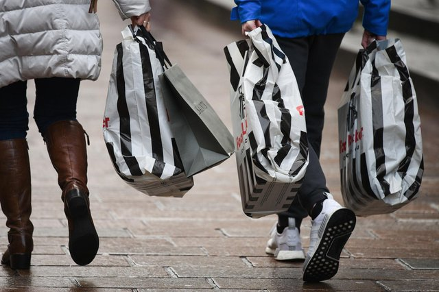 Shoppers can pick up bargains on Black Friday. (Photo by Jeff J Mitchell/Getty Images)