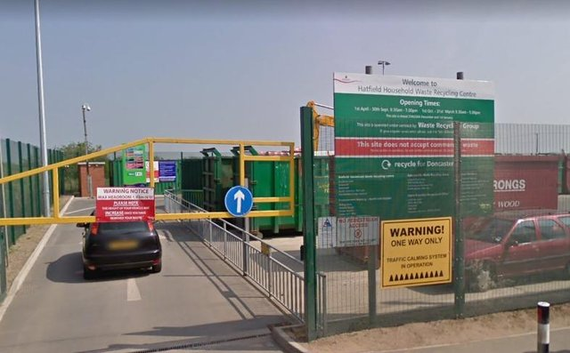 Hatfield Woodhouse Household Waste Recycling Centre