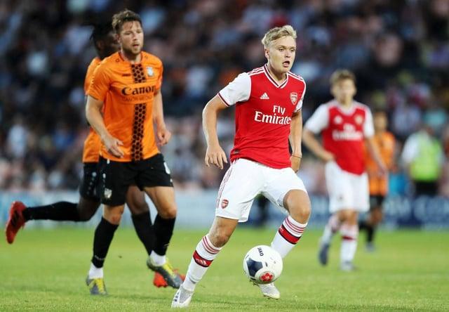 Matt Smith has joined Rovers on a season-long loan from Arsenal