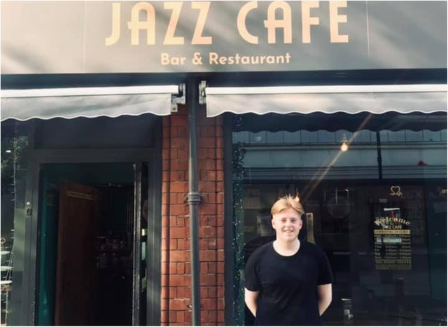 Jack Smithson came to the rescue when a young girl started choking at the Jazz Cafe.