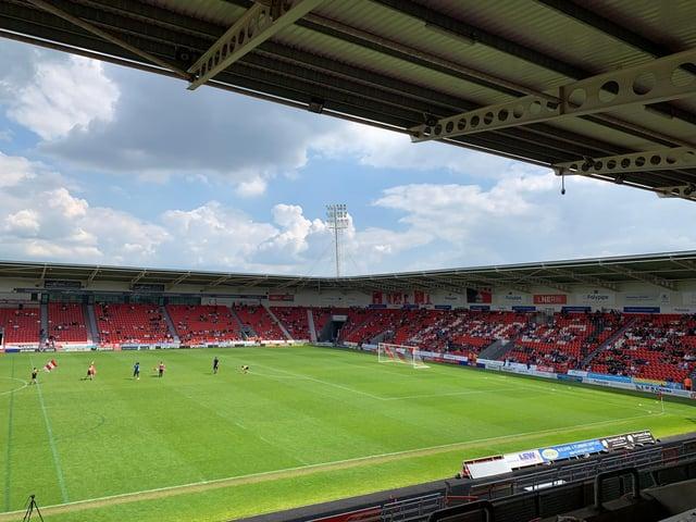 Doncaster Rovers Legends v Sheffield Wednesday Legends