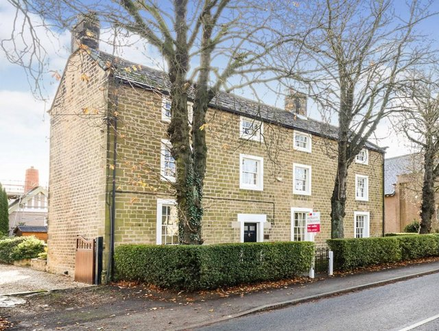 Doncaster Road High Melton, Grade II listed stone built period home.
